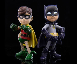 Hybrid Metal 1966 Batman & Robin Figures