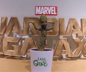 Official Dancing Baby Groot Actually Dances