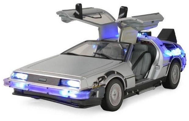 Back to the Future Light-up DeLorean Replica