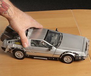 Back to the Future Light-up DeLorean Replica