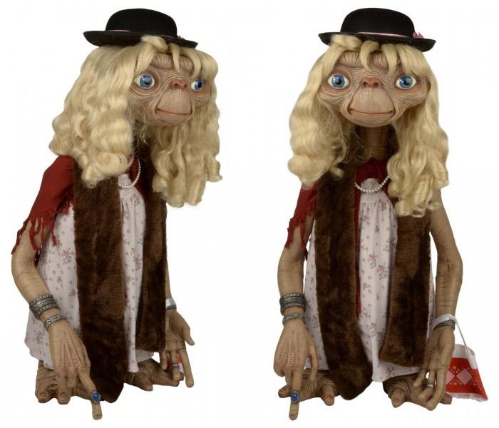 E.T. Dress-up Stunt Puppet Replica