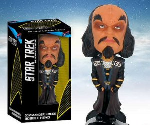 Star Trek Commander Kruge Bobble Head