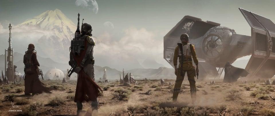 Star Wars Fan Art Inspired By Sergio Leone