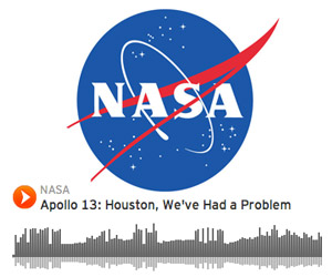 NASA's SoundCloud Page Features Historic Sound Samples