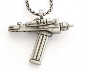 Set This Star Trek Phaser Necklace to Stun or Kill