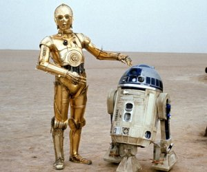 R2-D2 and C-3PO on Sesame Street in 1979