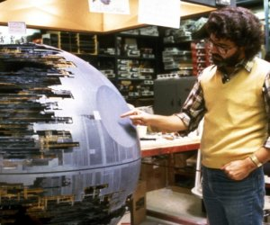 Behind The Scenes Photos from Return of the Jedi