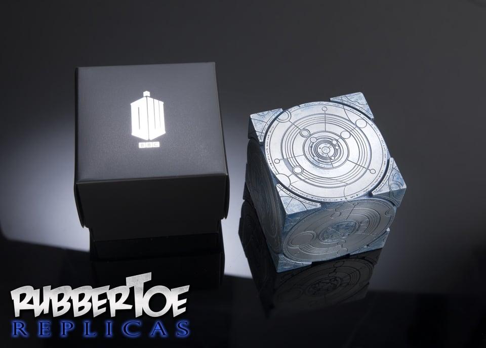 TARDIS Siege Mode Cube Prop