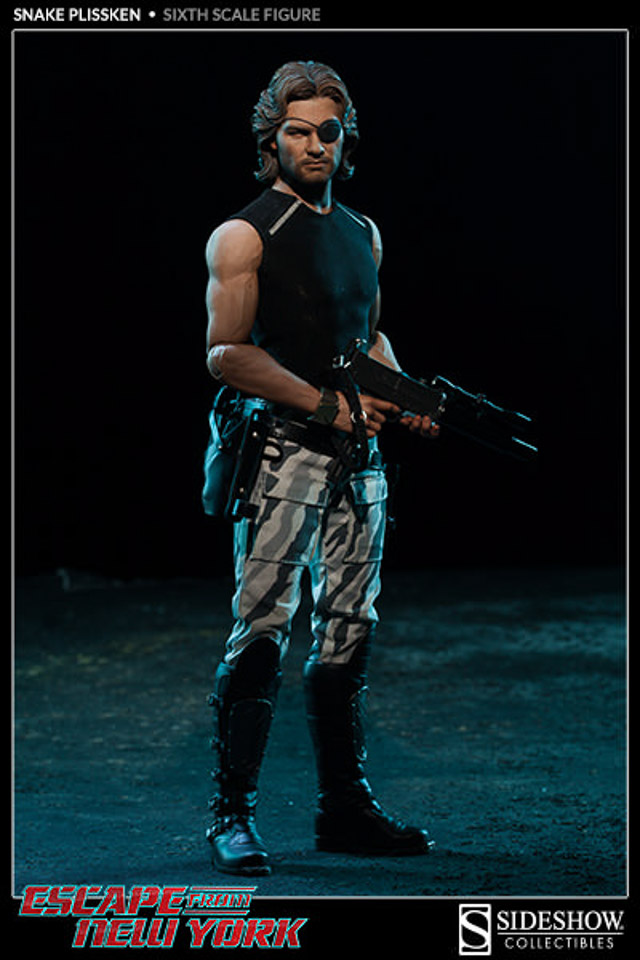 Sideshow Collectibles 1 6th Scale Snake Plissken Mightymega