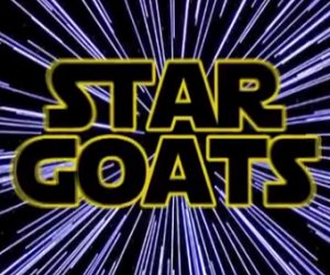 The Imperial March Performed by Goats