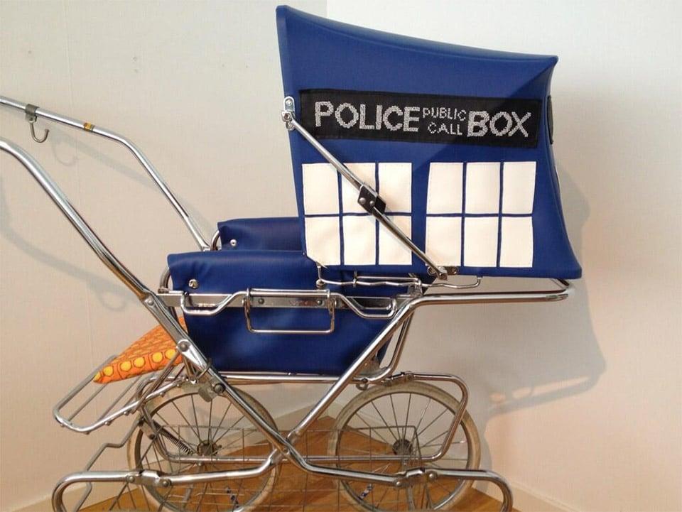 TARDIS Baby Stroller