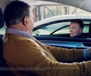 Shatner and Nimoy Star in a Volkswagen Commercial