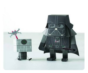 MOMOT Darth Vader Papercraft Figure Kit
