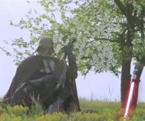 Darth Vader's Ukranian Campaign Ad