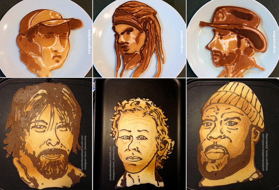 The Walking Dead in Pancake Form