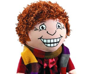 Doctor Who Fourth Doctor Plush Looks Scary