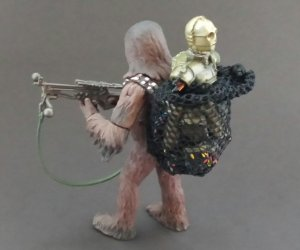 Chewbacca & C-3PO Flash Drive