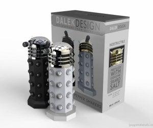 Dalek Salt & Pepper Shakers Exterminate Bland Food