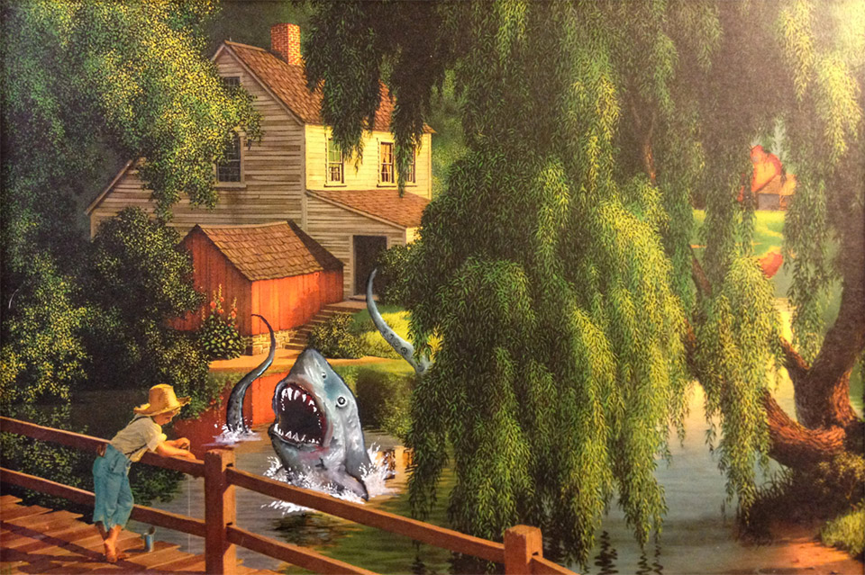 More Geeky Thrift Shop Art By Dave Pollot Mightymega