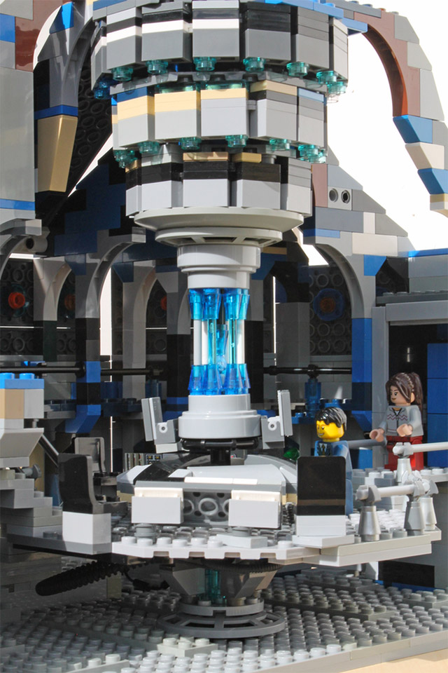 Lego Tardis Interior Instructions Image Information