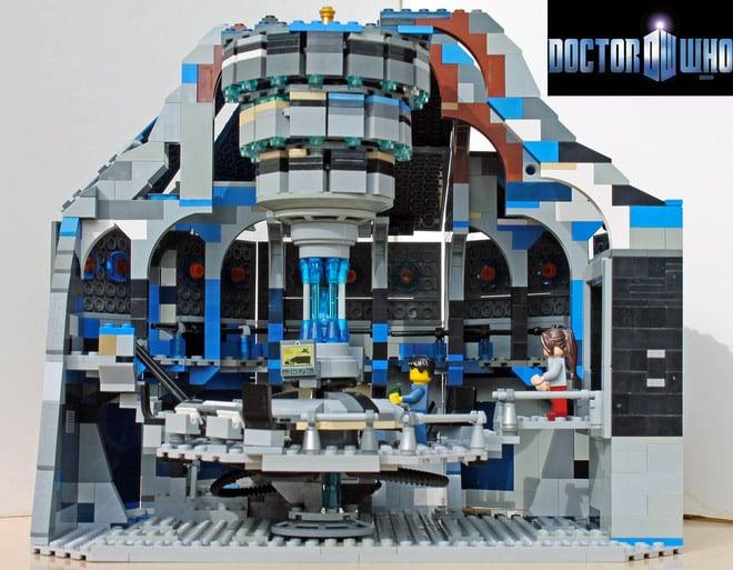 TARDIS Control Room Hits LEGO Ideas