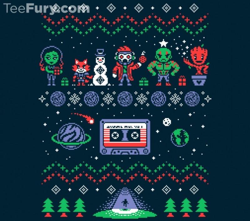 Guardians of the Galaxy Ugly Christmas Sweatshirt
