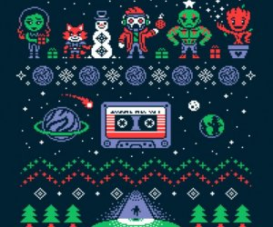 Guardians of the Galaxy Ugly Christmas Sweatshirt
