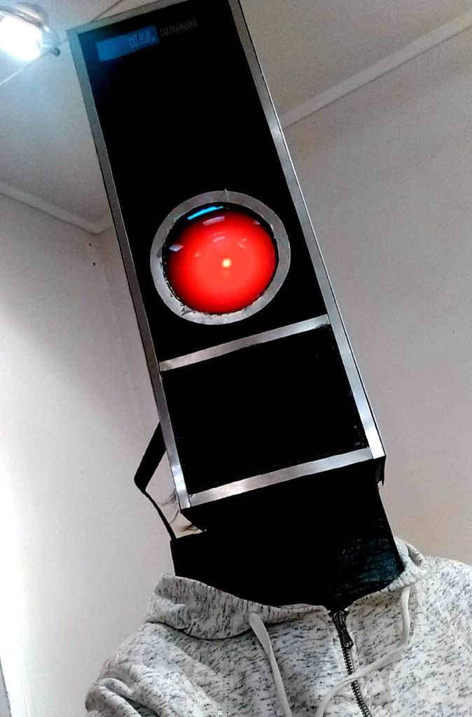 Make Your Own HAL 9000 Costume