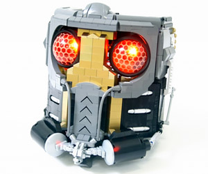 Awesome LEGO Star-Lord Mask