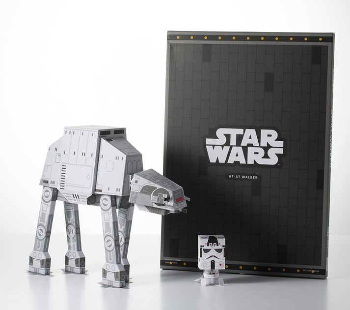 MOMOT AT-AT & Stormtrooper Papercraft Figures