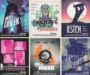 Doctor Who Series 8 Retro Posters