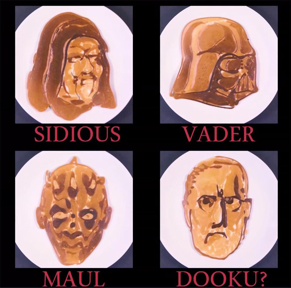 Sith Pancakes