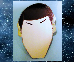 Spock You Stained Glass Mirror