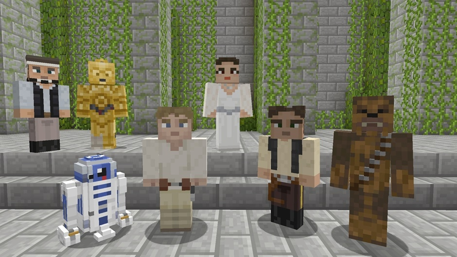 Star Wars Classic Skin Pack for Minecraft