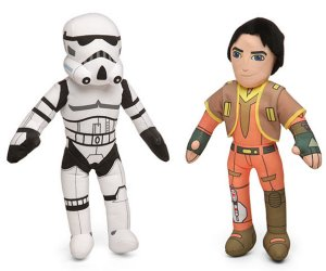 Star Wars Rebels Plushes
