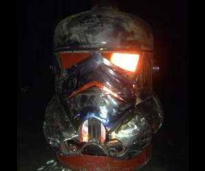 Stormtrooper Log Burner