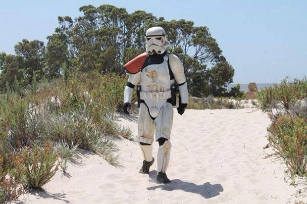 Stormtrooper Walks 5,600 Miles Across Australia