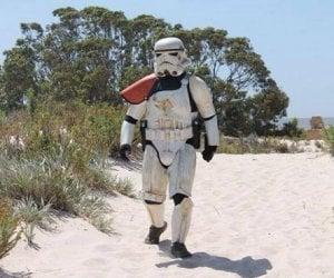 Stormtrooper Walks 5,600 Miles Across Australia