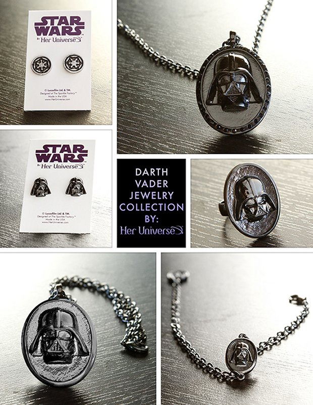 Darth Vader Jewelry Collection by Her Universe