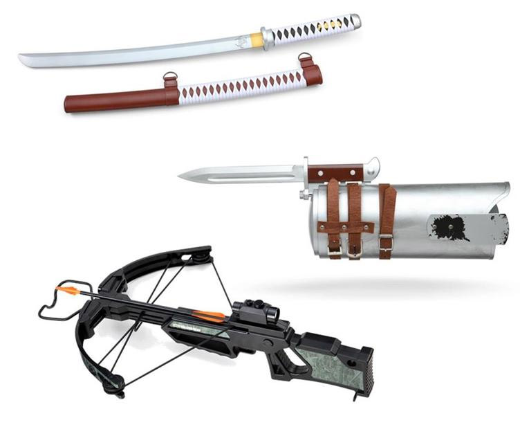 The Walking Dead Replica Role-Playing Weapons