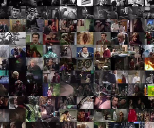 All 707 Classic Doctor Who Episodes Playing at Once