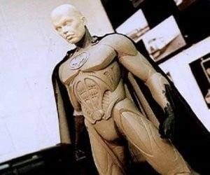 Concept for the Batsuit from Tim Burton's Batman 3