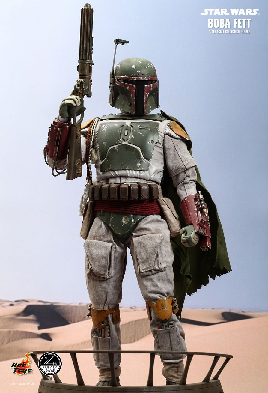 Hot Toys' 1/4-Scale Boba Fett Figure