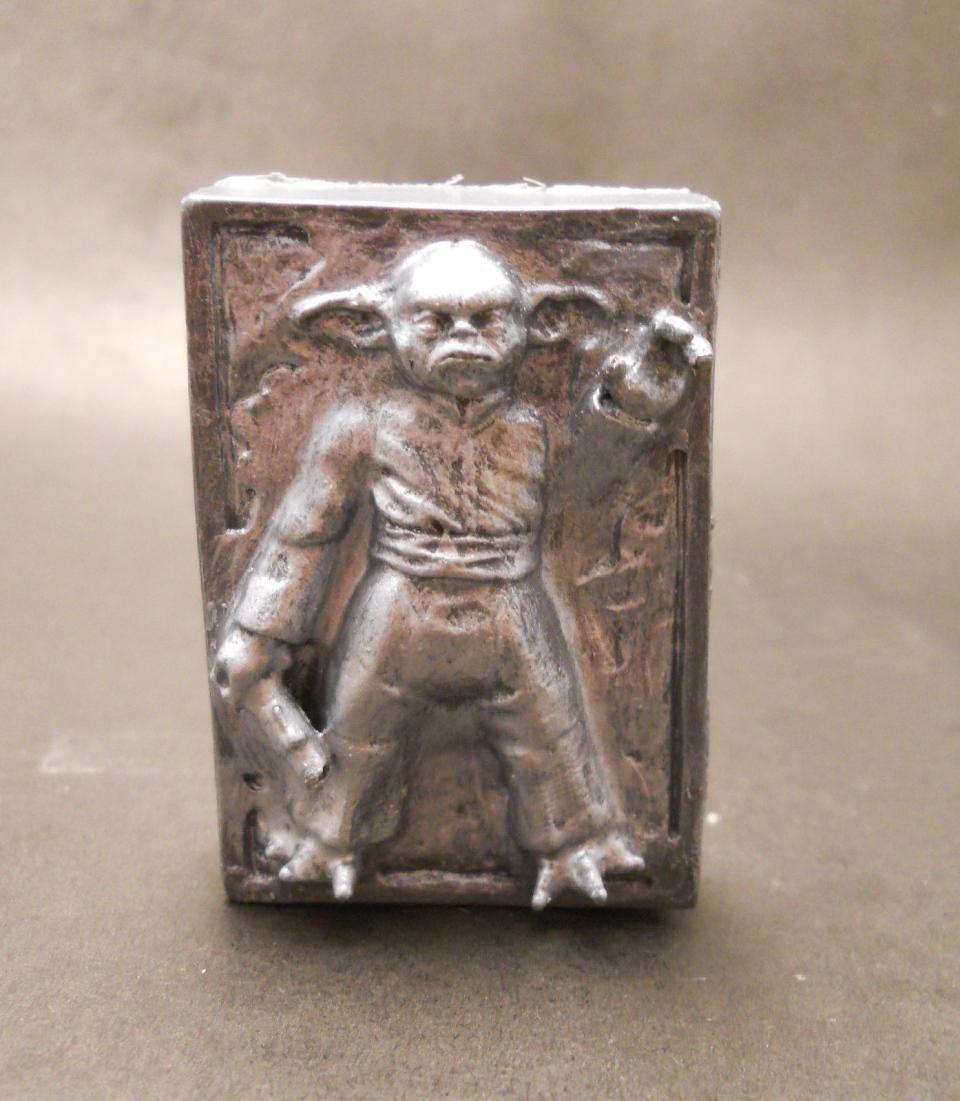 Custom Star Wars Yoda in Carbonite Action Figure