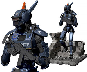 Chappie Scout 22 1/4-Scale Statue