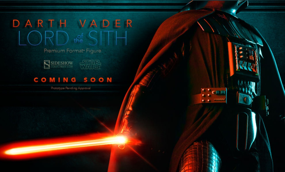 Darth Vader Premium Format Figure Teased