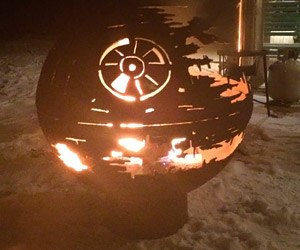 Death Star Fire Pit