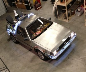 Turn Your DeLorean into a Back to the Future Replica
