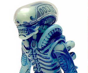 Glow-in-the-Dark Soft Vinyl Alien Xenomorph