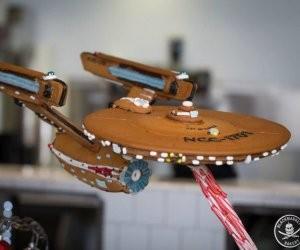 Gingerbread U.S.S. Enterprise